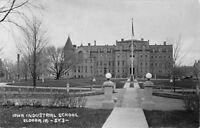 Eldora Iowa~Iowa Industrial Reform School for Boys~1920s Car~Real Photo~RPPC