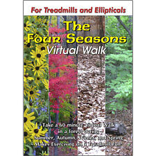 Four Seasons Nature Walk - Treadmill Scenery Dvd - Video Exercise Fitness