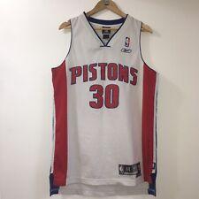 Reebok NBA Jersey Carlos Arroyo Detroit Pistons Puerto Rico #30 Medium M