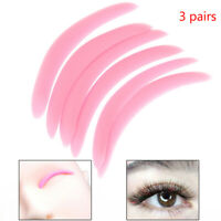 3 Pairs/Bag Perm Eyelash Patch Resuable Silicone Perming Rods Curler Pads RiYNfw