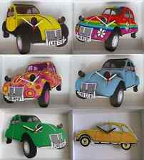 VINTAGE / RETRO CITROEN 2CV CAR WALL CLOCK.NEW & BOXED.6 STYLES.