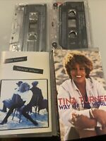 Tina Turner - Way of The World  Cassette Tape