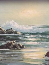 Stanford Stevens : Oil On Canvas / California Coast - Signed Listed (HH)