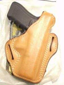 009-B2 DeSANTIS Triple Agent CCW 3-Slot Belt Gun Holster for GLOCK 17 22 31