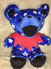 Grateful Dead Bean Bag Bears Uncle Sam by Liquid Blue Hippie Beanie Bear