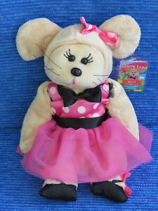 BEANIE KIDS - MOLLY THE MOUSE BEAR - BK2-161 SOFT CUTE GIFT PINK