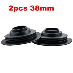 2pc Car Headlamp Dust Cover Waterproof Dustproof Cap For LED Headlight HID Lamp