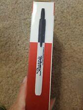 Sharpie 32701 Fine Black Retractable New Open Box 10