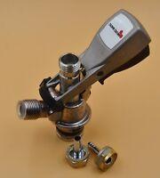 """Beer Keg Coupler Tap System """"U"""" Guinness  Micro Matic Metal Handle"""