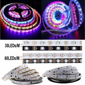 5M WS2811 LED Strip Lights 150/300 LEDs 5050 RGB Dream Colour IC Addressable 12V