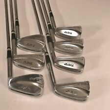 MACGREGOR MT TOURNEY 1971 BLADE IRONS-RH-MED SHAFT-3,4,5,6,7,8,9-ORIGINAL GRIPS