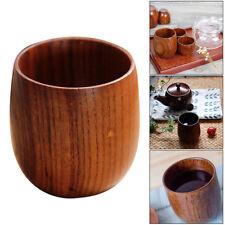 Wooden Cup Primitive Handmade Natural Wood Coffee Tea Beer Juice Milk Mug Cups