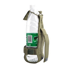 Tactical MOLLE Hiking Camping Travel Water Bottle Holder Belt Carrier Nylon Bag