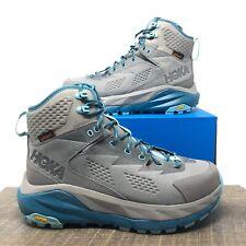 Hoka One One Sky Kaha Women's Hiking Boots, Frost Gray/ Agua Haze - Women Size 7