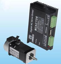 64W 24VDC 0.2N.m NEMA17 Brushless DC servo motor driver kit 1000line 3000rpm JMC