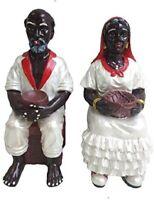 "12"" Francisco and Francisca Statue San Santo Santa Santeria Yoruba"