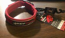 EzyDog Neoprene Classic Dog Collar Red Size Small