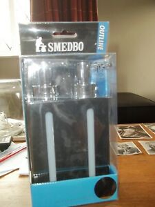 Smedbo Outline Shiny Stand-Soap 2-ply Double Soap Holder FK258