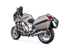 Zard Muffler Slip-On 2-1 Conical round Stainless Steel Moto Guzzi Norge 1200