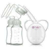 USB Double Electric Breast Suction Enlarger Pump Breastpump Mom Milk Extractor