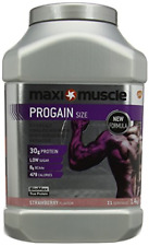 Maximuscle Progain High Protein Weight Gainer Powder, Strawberry, 1400 g