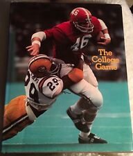 The College Game HC Book w/DJ Excellent Condition NCAA College Football 1974