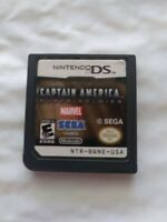 Captain America: Super Soldier (Nintendo DS, 2011) Game Cartridge Only