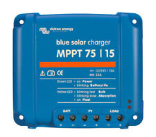 Régulateur de charge solaire MPPT 15A 12/24V Bluesolar Victron