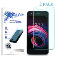2-Pack For LG Tribute Empire Tempered Glass Screen Protector