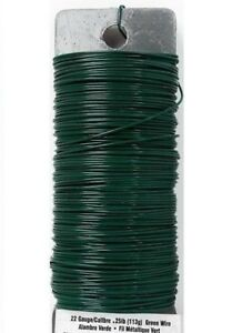 2X 250 Feet Snare Trip Wire Green 25 Gauge Spool Camping Hunting Survival Alarm
