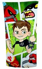 NEW Ben 10 Film Kids Boys Childrens Beach Towel Holiday Swimming Gift