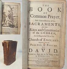 BOOK OF COMMON PRAYER, London, printed by John Baskett, 1733, 53 plates