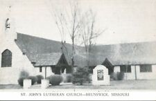 Brunswick,Missouri,St.John's Lutheran Church,Chaiton County,c.1940s