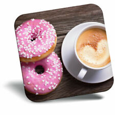 Awesome Fridge Magnet - Heart Coffee Pink Donuts Food Cool Gift #21404