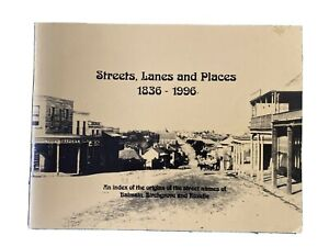 Streets, Lanes And Places 1836 - 1996 Index street names Balmain Rozelle Birch