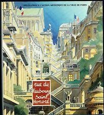 Rue du Faubourg Saint Honoré, Architecture, Jardins, Vergers, Potagers, Paris 8e
