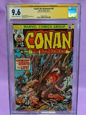 Conan the Barbarian #41 CGC 9.6 SS Signed by Roy Thomas