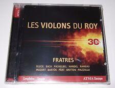 Fratres: Les Violons Du Roy (CD, 2015, ATMA) new