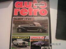 ** Auto Moto Retro n°85 Sunset chevrolet 1929 - 31 / Le Salon 1967