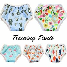 Reusable Bamboo Training Pants Diaper Newborn Baby Toddler Unisex Potty Boy Girl