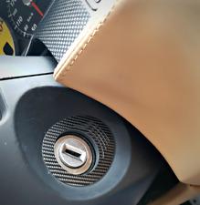 FERRARI f599 2 carbonblenden di accensione serratura GTB HGTE GTO 599xx inizia FIORANO