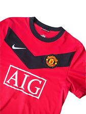 Manchester United #11 Giggs 2009-2010 Nike Football Jersey Size Small AIG