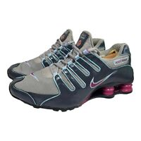 Nike Shox NZ Black Purple Womens Size 8.5 314561 061
