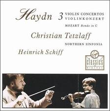 Concertos Pour Violon N 1, 2 & 3  MUSIC CD