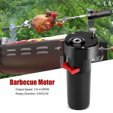 Electric BBQ Rotisserie Motor Stainless Steel Roaster Chicken Grill Pig Spit New