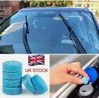 10 x CAR SCREEN WASH WINDSCREEN FLUID TABLETS  , WITH ANTI FREEZE -31c  UK SELL