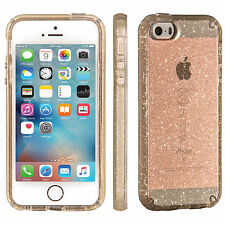 Speck Original CandyShell Clear Case iPhone SE/5S/5  Gold Glitter/Clear