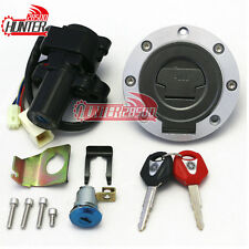 Ignition Switch Gas Cap Cover Seat Lock Key Set for Yamaha YZF R1 R6 R6S FZ6