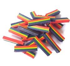 25 x Rainbow Crayons ** Children's Art + Craft **