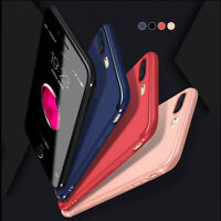Luxury Silicone TPU Soft Cover Ultra-Thin Slim Case For iPhone 8 Plus 7 Plus New